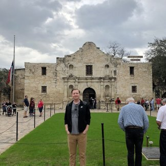 Jason at The Alamo