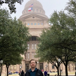 Jason at the State Capitol
