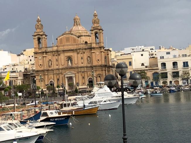 St. Lawrence's Church & Vittoriosa waterfront in Birgu