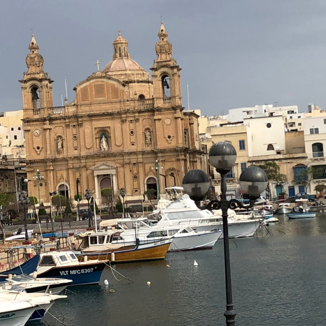 St. Lawrence's Church & Vittoriosa waterfront in Birgu