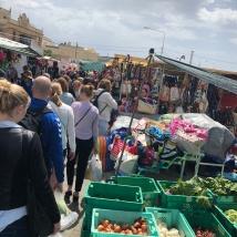 Sunday market in Marsaxlokk