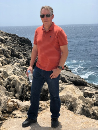 Phil at Blue Grotto