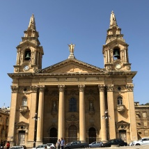 Sarria Church in Valetta
