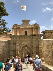 Entrance to walled city of Mdina