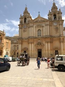 St. Paul's Cathedral in Mdina