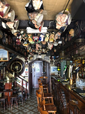 Inside Plough & Anchor Pub in Silema