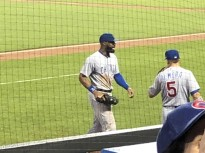 Jason Heyward and Albert Almora