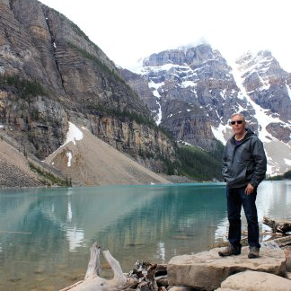Phil by Moraine Lake