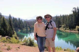 Jand and Phil at Third Lake