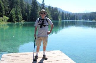 Phil at Fifth Lake