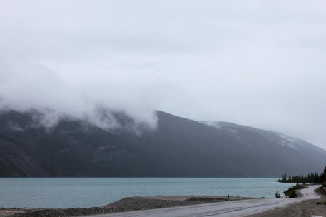 View of Muncho Lake