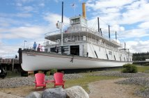 Bow view of SS Klondike