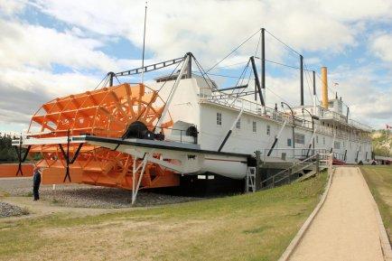 Stern view of SS Klondike