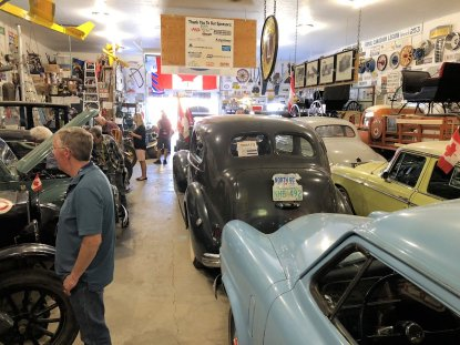 Antique car collection