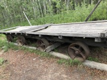 Replica of tramcar