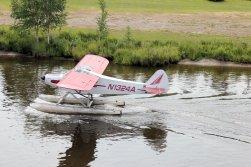 Bush pilot landing