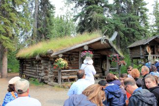 Chena cabin and cache