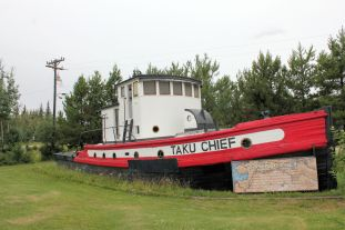 Barge that plyed Alaska rivers from 1938-1978