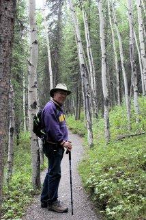 Phil on Rock Creek Trail