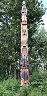 Totem pole from movie