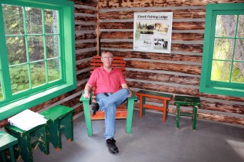 Phil in Fishing Lodge