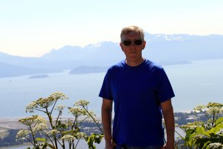 Phil overlooking Kachemak Bay
