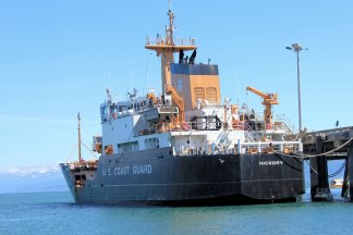 Coast Guard buoy tender