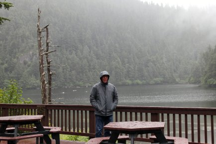 Phil on Fox Island