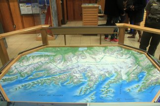 Diagram of Kenai Fjords National Park