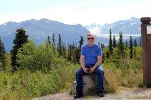 Phil at Nelchina Glacier