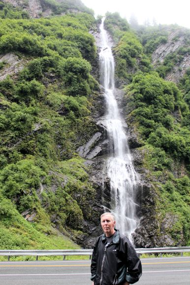 Phil at Bridal Veil Falls