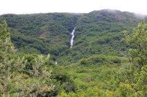 Waterfall feeding Crooked Creek