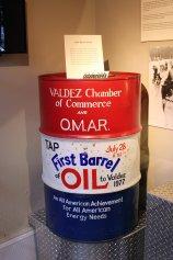 First barrelof oil from Trans-Alaska Pipeline System