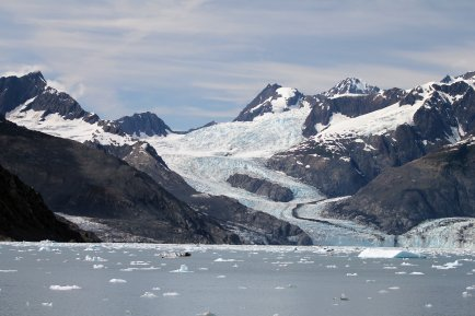 Columbia Glacier from a distance