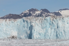 Columbia Glacier close-up