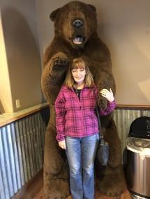 Jan and bear