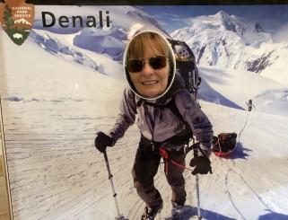 Jan climbing Denali
