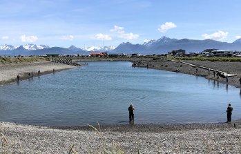 Nick Dudiak Fishing Lagoon