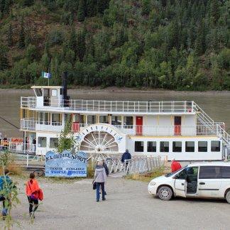 Paddleboat on Yukon