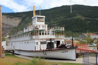 Restored SS Keno sternwheeler