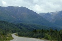 View along Haines Hwy.