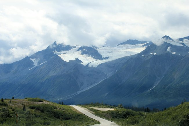 Glacier near Haines Hwy. summit