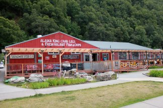 Skagway Fish Co., where we had lunch