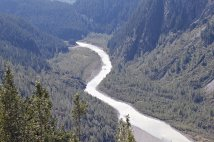 Salmon River glacial runoff