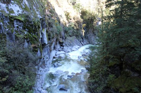 Coquihalla River canyon