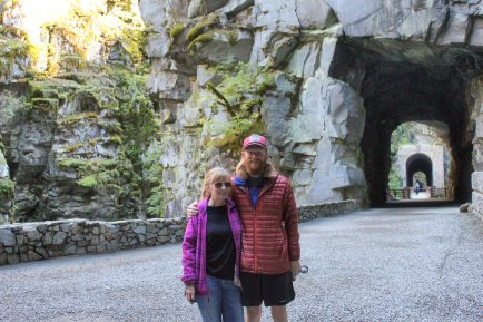 Jan and Jarrod by Othello tunnels