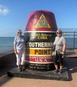 Jan and Lori in Key West