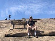 Phil on Summit Trail