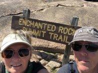 Selfie on Summit Trail
