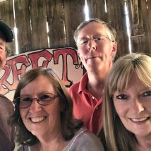Selfie at 11th Street Cowboy Bar